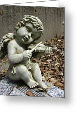 The Musician 04 Greeting Card