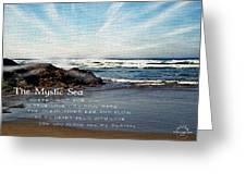 The Mystic Sea Greeting Card
