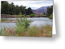 The Naches River Greeting Card