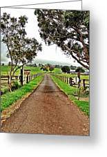 The Narrow Road Greeting Card