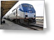 The National Railroad Passenger Corp Amtrak Greeting Card