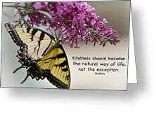 The Natural Way  Greeting Card