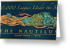 The Nautilus Greeting Card