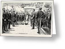 The Naval Manoeuvres Greeting Card
