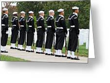 The Navy Ceremonial Guard Greeting Card