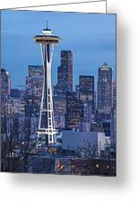The Needle At Night Greeting Card
