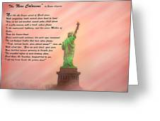 The New Colossus Greeting Card