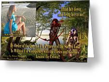 Princess Of The Sacred Lake Greeting Card
