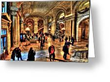 The New York Public Library Greeting Card