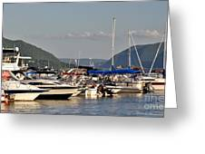 The Newburgh Water Front 2 Greeting Card