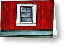 The Night Window Greeting Card