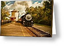 The Noon Train Greeting Card