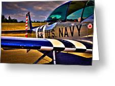 The North American L-17 Navion Aircraft Greeting Card