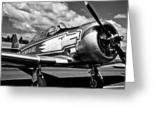 The North American T-6 Texan Greeting Card by David Patterson