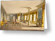 The North Drawing Room, Or Music Room Greeting Card