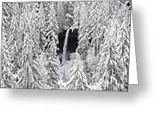 The North Falls View Greeting Card