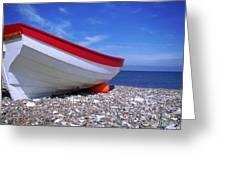 the North Sea Greeting Card by Giorgio Darrigo