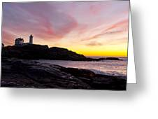 The Nubble Greeting Card by Steven Ralser