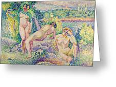 The Nymphs Greeting Card