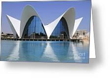 The Oceanografic Valencia Greeting Card