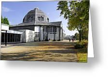 The Octagon - Buxton Pavilion Gardens Greeting Card