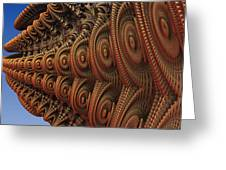 The Odd Beauty Of Fractals Greeting Card