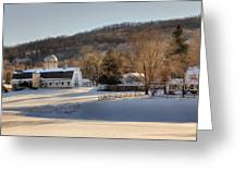 The Ol Homestead Greeting Card by Bill Wakeley