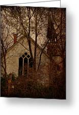 The Old Abandoned Church Greeting Card