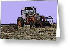 The Old Allis  Greeting Card
