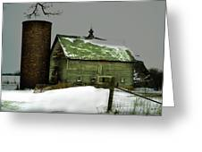 The Old Barn 4 Greeting Card