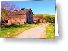 The Old Barn 5d22271 Greeting Card by Wingsdomain Art and Photography