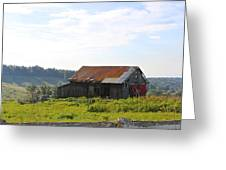 The Old Barn Greeting Card