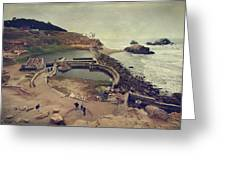 The Old Bath House Greeting Card