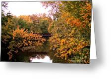 The Old Bridge Greeting Card