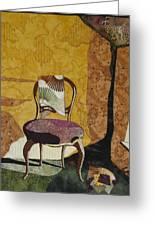 The Old Chair Greeting Card by Lynda K Boardman