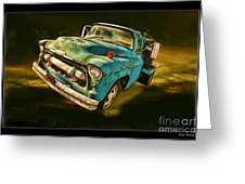 The Old Chevy Max Greeting Card