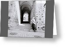 The Old City Of Jerusalem Greeting Card