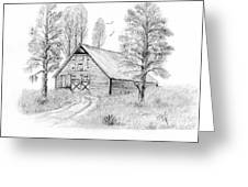 The Old Country Barn Greeting Card
