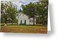 The Old Country Church Greeting Card