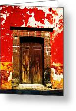 The Old Door Greeting Card