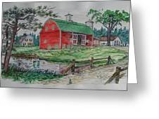 The Old Family Farm Greeting Card