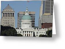 The Old Federal Courthouse St Louis Greeting Card