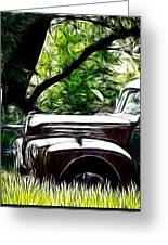 The Old Ford Truck Greeting Card