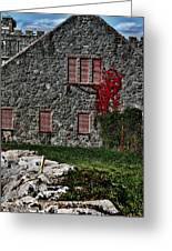 The Old Fort Bristol Rhode Island Greeting Card