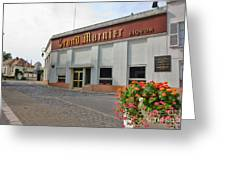 The Old Grand Marnier Distillery Greeting Card