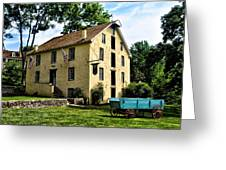 The Old Grist Mill  Paoli Pa. Greeting Card