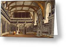 The Old Guard Chamber, The Round Tower Greeting Card