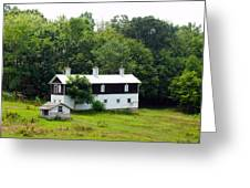 The Old Horse Barn Greeting Card