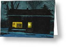 The Old House Greeting Card