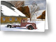 The Old Jalopy Greeting Card